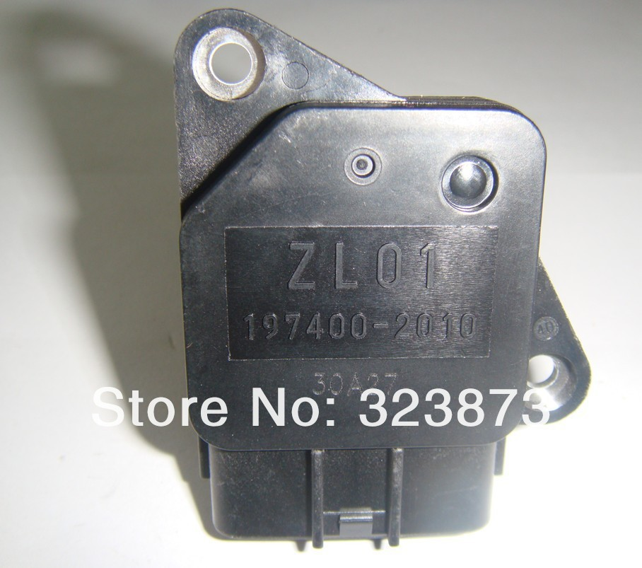 original new ZL01-13-215 ZL0113215 ZL01-13-215 197400-2010 Mass Air Flow Meter MAF Sensor for MAZDA 3 5 6 PROTEGE MX-5 MIATA .
