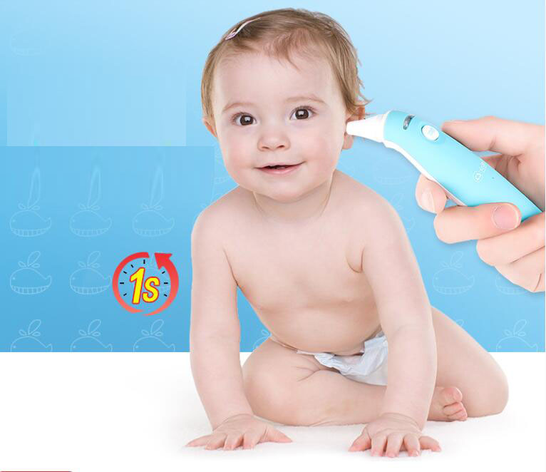 Electronic Thermometer Household High Precision Baby Children Medical Thermometer Infrared Forehead Thermometer in Thermometers from Beauty Health
