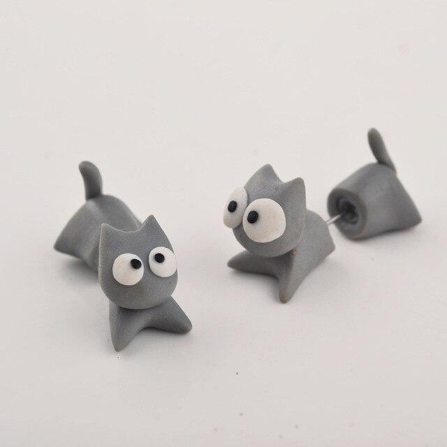 Connu 3D pâte à Modeler De Mode Creative Mignon Fimo Animal Uniqu Gris  GK12