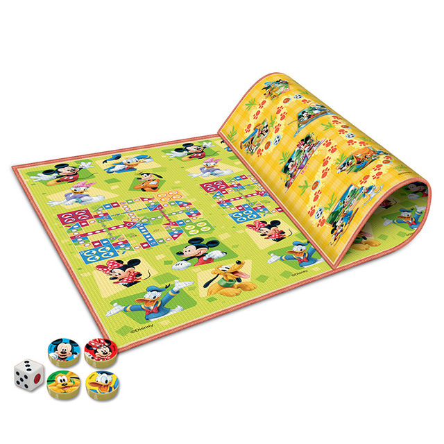 Disney Mikey Large Funny Floor Rugs Baby Play Mats With Chess Dice Family Educational Toys