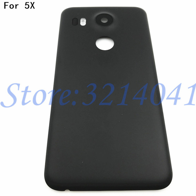 official photos 72765 84400 US $7.49 5% OFF|High quality Battery Back Cover For LG Google Nexus 5X Back  Battery Cover Rear Door Housing Case Replacement Parts -in Mobile Phone ...