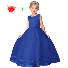 Simple 3-11years baby girl dress clothes children ball gowns for girls  designer formal party dresses for weddings bfdcac160f7f