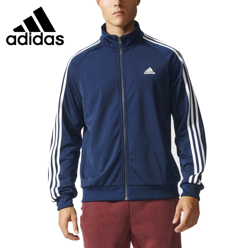 Original  New Arrival 2017 Adidas ESS 3S TTOP TRI Men's jacket  Sportswear adidas new arrival official ess 3s crew men s jacket breathable pullover sportswear bq9645