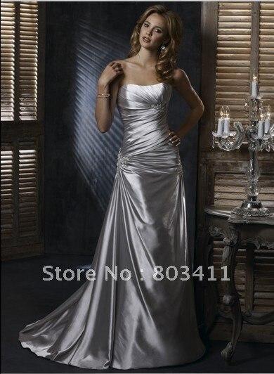 Online Get Cheap Silver Wedding Dresses for Sale -Aliexpress.com ...