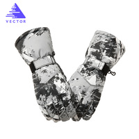 VECTOR Waterproof Ski Gloves Men Women Warm Skiing Snowboard Gloves Snowmobile Motorcycle Riding Winter Outdoor Snow