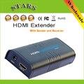 1080 P Ethernet Rede Rede LKV373 hdmi Sem Fio transmissor receptor Extensor 100 M Cat5e/CAT6 cabo para RJ45, DropShipping