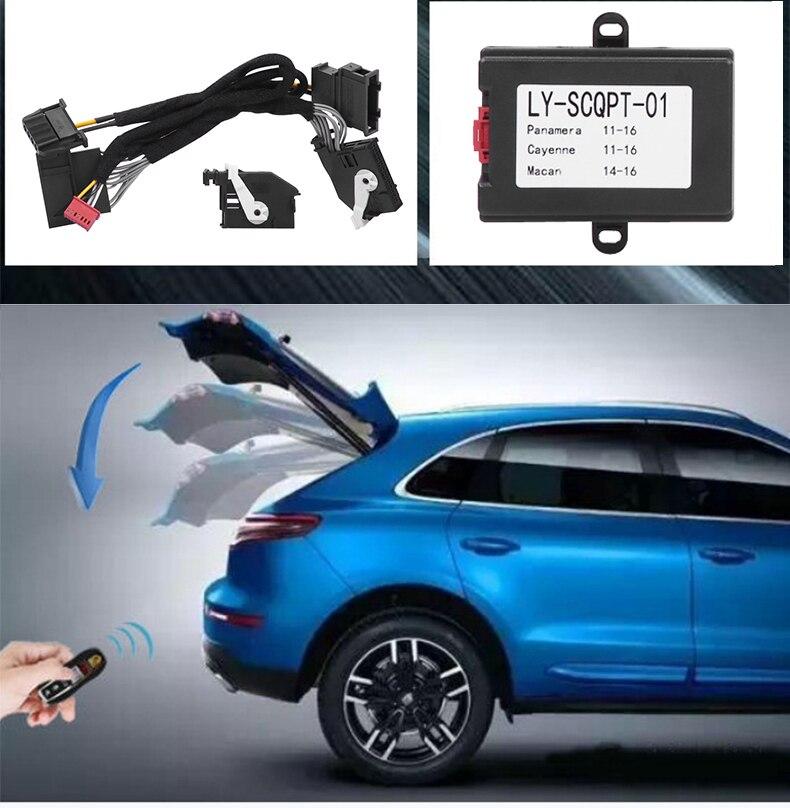 Fermeture à distance/ouverture du coffre par clé pour Porsche Cayenne/Panamera/Macan voiture fermeture automatique de la fenêtre et rétroviseur rabattable automatique