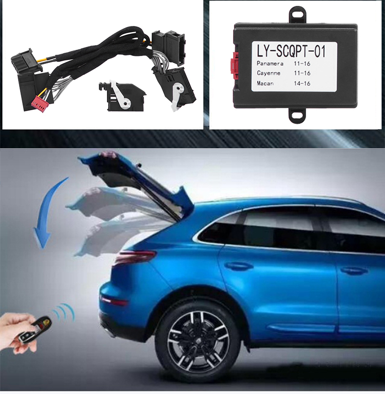 Remote Close/Open Trunk By Key For Porsche Cayenne/Panamera/Macan Car Automatic Window Closer and Automatic Folding Rear Mirror фаркоп porsche macan 2013 без электрики фаркоп porsche macan 2013 без электрики 2 ро