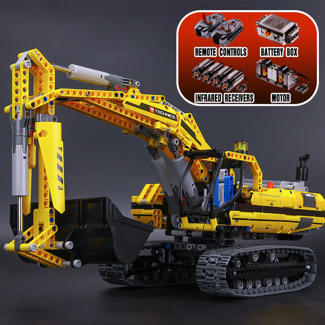 Compatible With Lego 8043 Lepin 20007 Technic Motorized Excavator