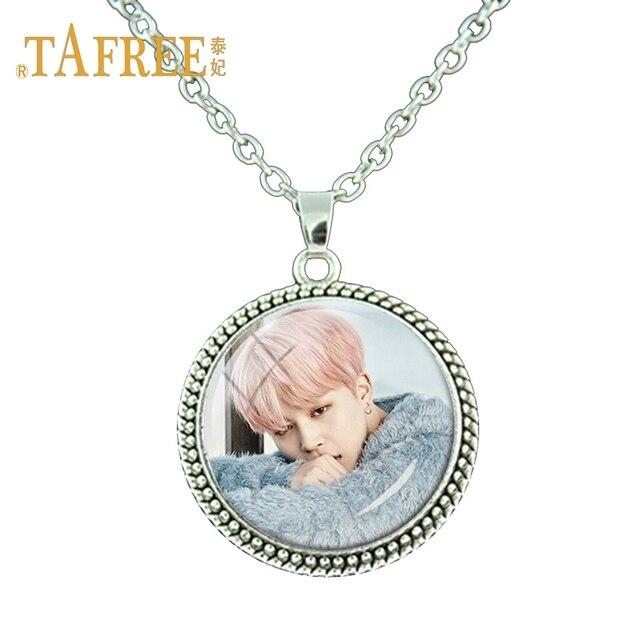 Tafree cool korean men bts necklace bts love yourself personal tafree cool korean men bts necklace bts love yourself personal picture antique silver plated for women solutioingenieria Images