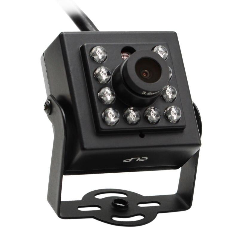 10 шт. ИК LED High Definition аналоговый AHD Камера 720 P мини-поле AHD Камера для наблюдения безопасности