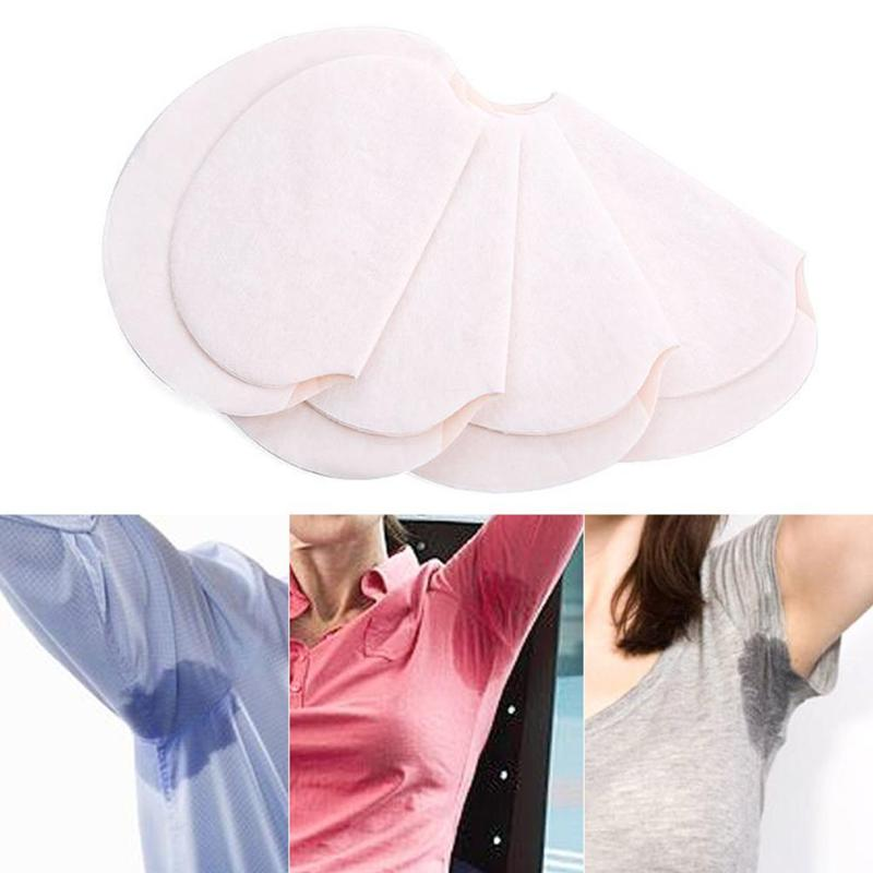 10pcs Underarm Dress Clothing Armpit Care Sweat Scent Perspiration Disposable Armpit Sweat Absorbing Pads Deodorants Stickers