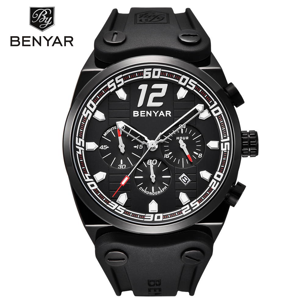 Fashion Stylish Waterproof Chronograph Men Wristwatch Sport Military Silicone Black Sport Stainless Steel Male Quartz Watches все цены