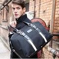 2015 Nova Moda Mulheres Bagagem Sacos De Viagem Bolsas de Tecido Oxford Grande Capacidade À Prova D' Água Homens Portáteis Viajar Sacos de Duffle Bag