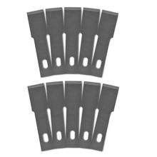 10 Pcs One Lot 18# Wood Carving Knife Blade Replacement Paper Cutter