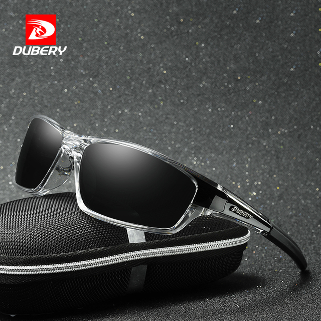 83a5a7d898 DUBERY Polarized Night Vision Aviation Sunglasses Men s Retro Male Sun  Glasses For Men Cool Brand Luxury Mirror Shades Oculos