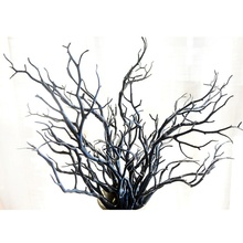 Simulation Flower 3PCS Big Branch Bifurcated Artificial Fake Tree Branch  Wedding Home Office Furniture Decoration(