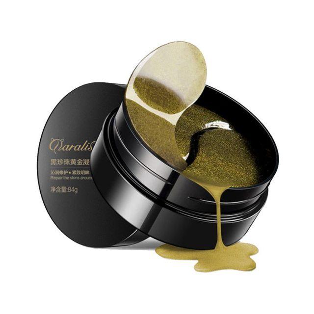 1 botella de máscara de ojo dorado reafirmante ojos de elevación cuidado de la piel antiarrugas Anti envejecimiento círculo oscuro hidratante nutrir parche 30 pares