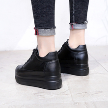 Free shipping Increased 8cm in autumn and winter women's