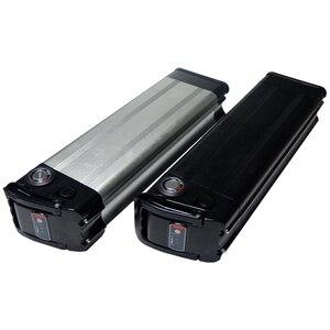 Image 2 - 36V 10Ah boîtier de batterie de vélo électrique pour bricolage batterie au lithium 24V 36V 48V boîte avec support 5*13 gratuit et nickel pur