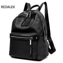 Redalex Новинка 2017 года Рюкзаки для подростков Обувь для девочек Водонепроницаемый Оксфорд рюкзак Для женщин Школьные сумки Дорожная сумка рюкзак Mochila Feminina