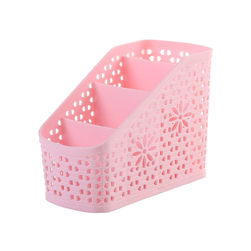 Home and Office Desk Organizer Desktop Sundries Storage Box Plastic Shell Skin Care Cosmetics Pens Remote Wall Holder in Home Office Storage from Home Garden