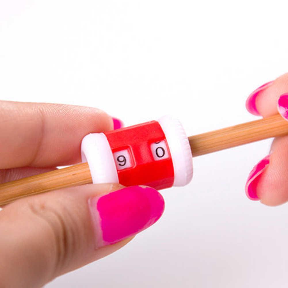 1 шт. L Размер ручного вязания счет мини ручной счетчик рядов стежка маркер Tally пластиковые вязальные линии номер Калькулятор Инструмент #20
