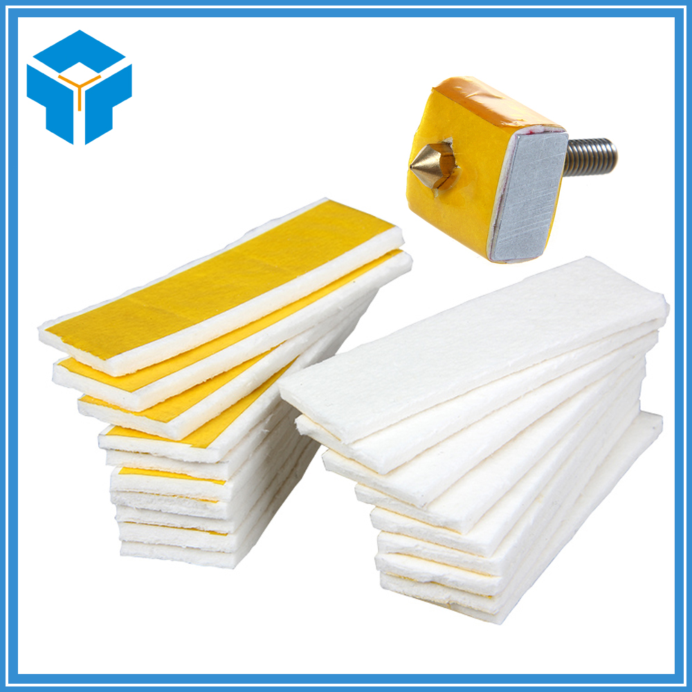 3mm thick heating block cotton For 3D printer hotend nozzle heat insulation lot