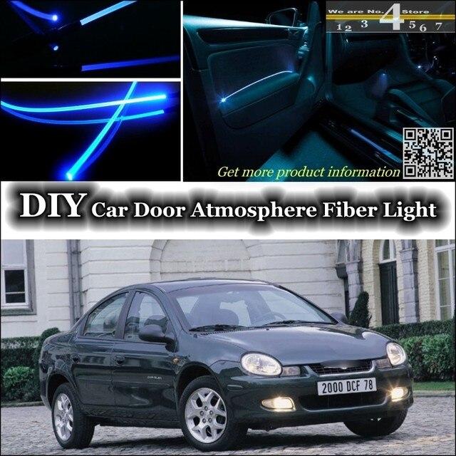 For Chrysler Neon interior Ambient Light Tuning Atmosphere Fiber Optic Band Lights Inside Door Panel illumination & For Chrysler Neon interior Ambient Light Tuning Atmosphere Fiber ...