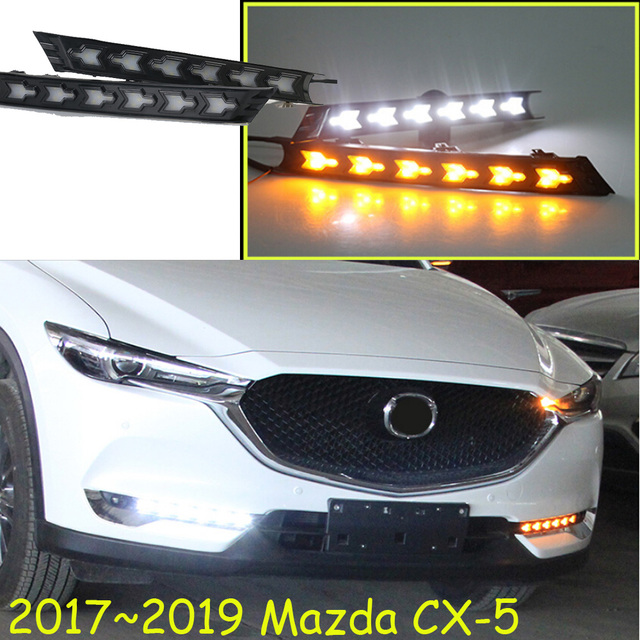 Led 2017 2019 Cx 5 Daytime Light Fog Headlight Tribute Rx 7 8 Protege Mx 3 Miata 4 Cx5 Lamp
