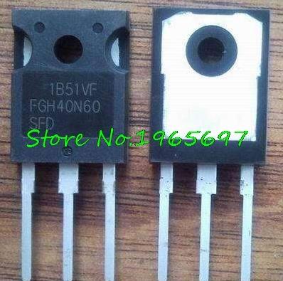 5pcs/lot FGH40N60SFD FGH40N60 40N60 IGBT TO-247 New Original In Stock