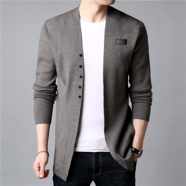 COODRONY Cardigan Men Casual Knitted Cotton Wool Sweater Men Clothes 2019 Autumn Winter New Mens Sweaters and Cardigans Coat B11