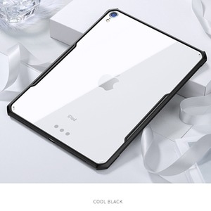 Image 1 - Funda For i Pad Pro 11 2018 Protective Case With Airbags Transparent Shockproof Back Cover For New i Pad Pro 11 Tablet Soft Case