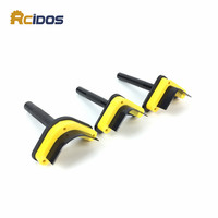 RCIDOS DIY Leather Corner Cutter Kits Manual Belt Round Cut Punch Belt Round Shape Tools Corner