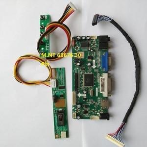 """Image 1 - Kiti LP154WX5 TLA1 VGA sinyal ekran sürücüsü 1 lamba LVDS 1280X800 15.4 """"ekran paneli 30pin denetleyici kurulu DVI HDMI"""
