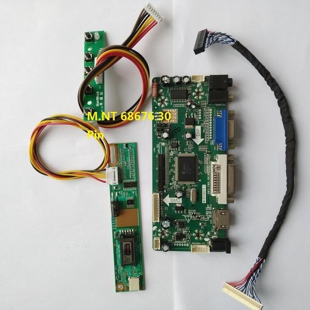 """Kiti LP154WX5 TLA1 VGA sinyal ekran sürücüsü 1 lamba LVDS 1280X800 15.4 """"ekran paneli 30pin denetleyici kurulu DVI HDMI"""