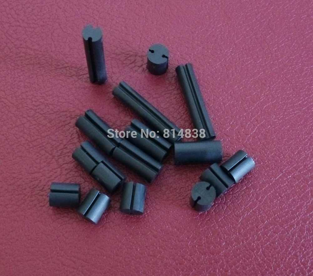Dia. 5mm L = 5mm Black LED Spacer Support Hood PCB Board Mount Hardware