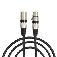 new Grade Ten Pieces Cable DMX 1.8 Meters With 3 Pin Signal XLR Male To Female Connector Support Microphone,Stage Light