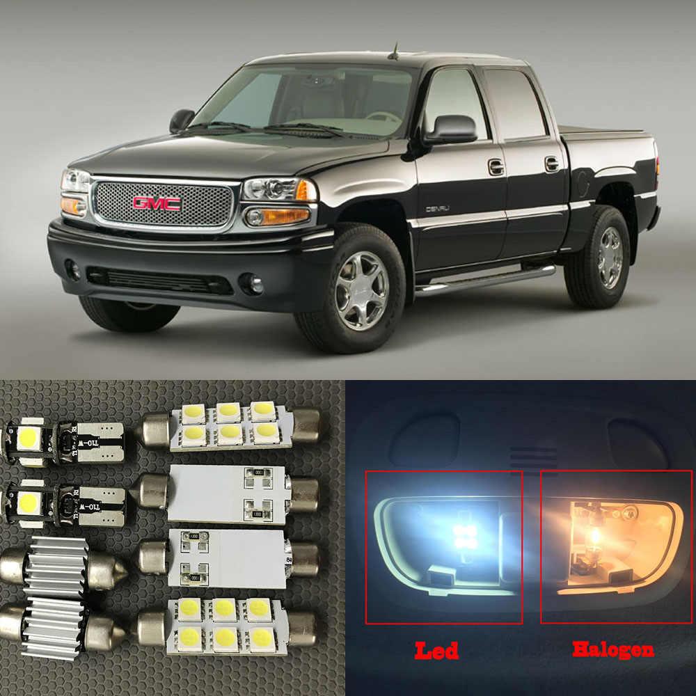 LED Interior Package Map Dome Cargo License Light Kit for GMC Sierra 1999-2006