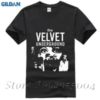 The Velvet Underground Rock Roll T Shirt Men Women Black Tee Size S Xxxl Short Sleeve