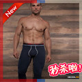 Para hombre boxers de algodón sexy hombres ropa interior / hombres mantienen caliente polainas apretadas estéreo Johns se reunieron el diseño de la bolsa y cómodo
