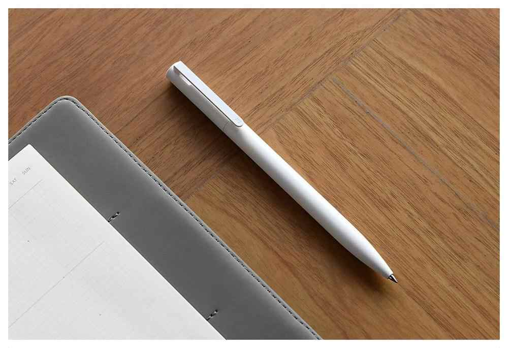Originale Xiao mi mi penna Gel mi Penna 9.5 millimetri No Cap penna Proiettile Penna Nera PREMEC Liscia Svizzera DI Ricarica mi Kuni Giappone