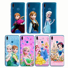 Castle Princess White Snow Prince Cartoon Phone Case Back Cover Silicone Soft for Y9 Y7 Y5 Pro Prime ii