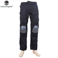 EMERSON Gen2 Tactical Pants with Knee Pads Outdoor Combat Training Airsoft G2 BDU Pants Military Hunting Clothes Black EM6988