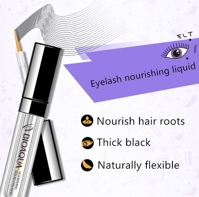 Eyelash Growth Treatments Makeup Eyelash Enhancer 7 Days Longer Thicker Eyelashes Eyes Care Eyelash Enhancer 2