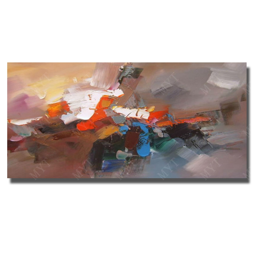 Modern Abstract Design Idea Oil Painting Hand Painted Unique
