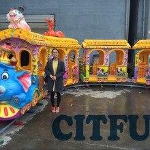 Классические Dumbo Летающий Слон электрические поезда с дорожкой аттракцион парк аттракционов на продажу HC-002A
