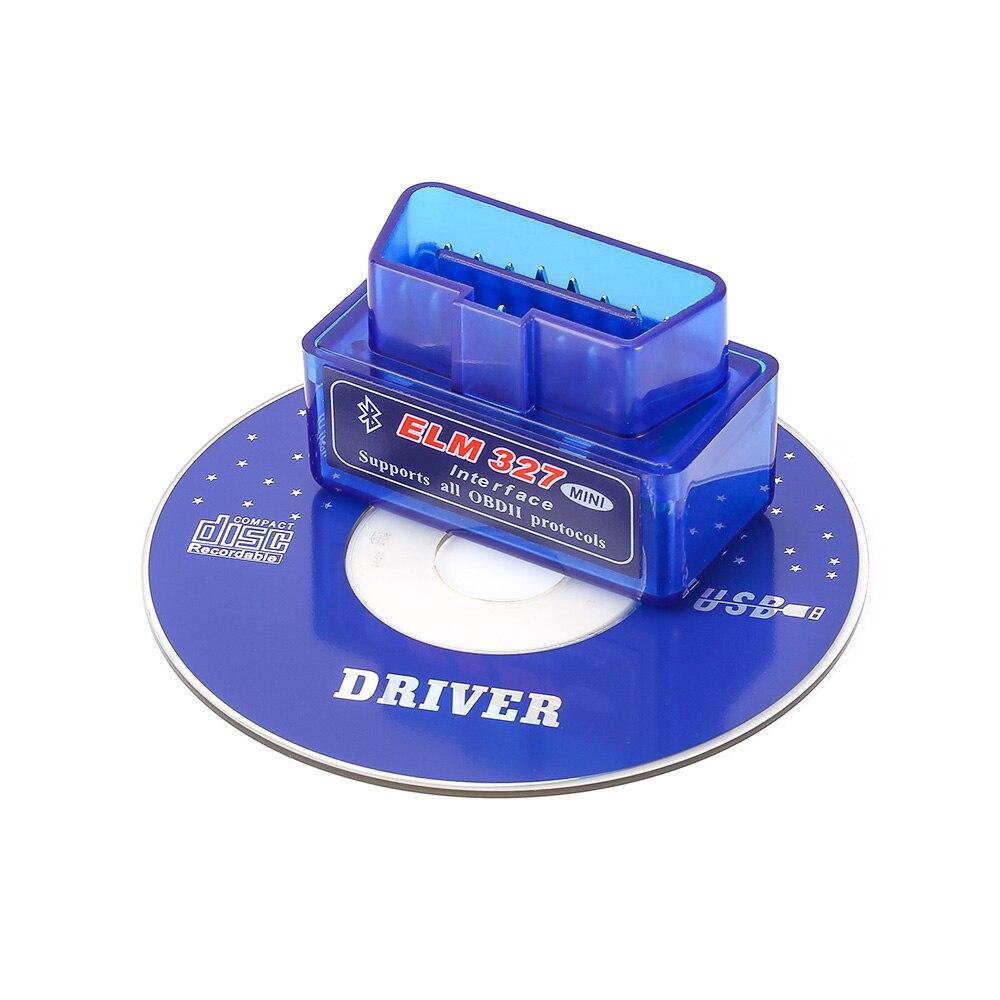 2018 Newest Super MINI ELM327 Bluetooth V1.5 OBD2 Car Diagnostic Tool ELM 327 OBDII Auto Scanner Code Reader For Android Torque