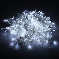 Free Fedex 6pcs/lot 10*3M Full color 1000leds curtain string lights Beautiful LED Reticulation light christmas curtain lights
