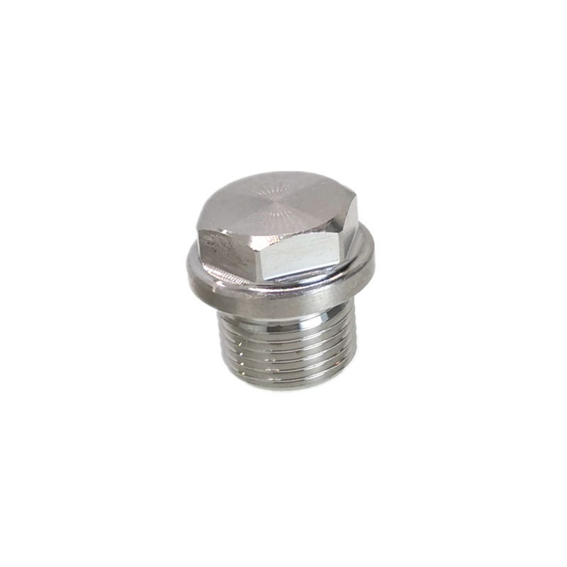"""1//8/"""" To 1/"""" BSPT //NPT Male 304 Stainless Steel Hex Pipe End Plug Cap Fitting"""